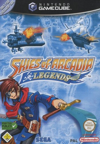 SKIES of ARCADIA LEGENDS.