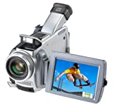 "Sony DCRTRV80 MiniDV 2Megapixel Camcorder with 3.5"" LCD, Memory Stick, Bluetooth Wireless Connectivity, and Networking Capability"