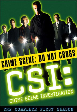 C.S.I. Crime Scene Investigation - The Complete First Season DVD