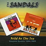 Capa de Wild as the Sea: Complete Sandals 1964-1969