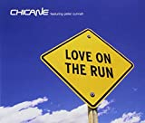 Album cover for Love on the Run (feat. Peter Cunnah)