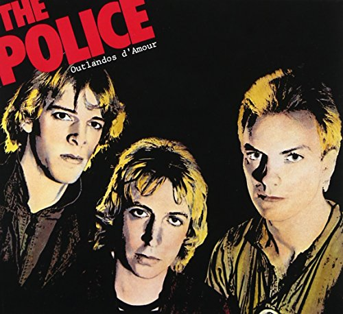 CD-Cover: The Police - Outlandos D'amour
