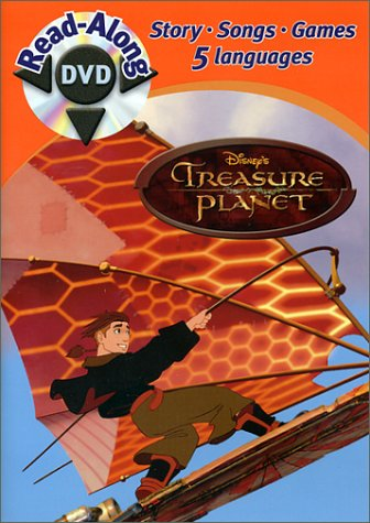 Treasure Planet Disney Read-Along DVD