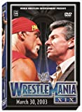 WWE Wrestlemania XIX - movie DVD cover picture