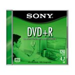 SONY 10-Pack of 4.7GB Blank DVD+R Discs