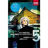 Mahler Symphony No. 5 & Ades Aslya / Rattle, Berlin Philharmonic - movie DVD cover picture