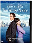 Two Weeks Notice (Full Screen Edition) - movie DVD cover picture