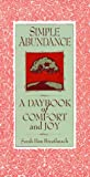Simple Abundance - A Daybook of Comfort and Joy