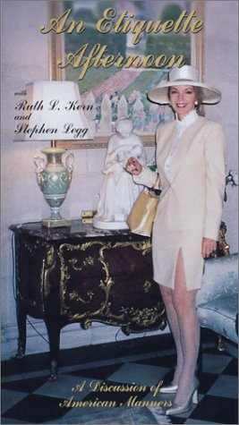 An Etiquette Afternoon (2000)  VHS ~ Ruth L. Kern