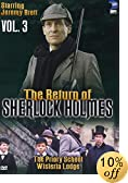 The Return of Sherlock Holmes, Vol. 3 - The Priory School & Wisteria Lodge by Jeremy Brett 
