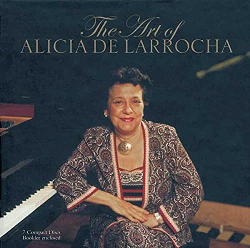 L'Art d'Alicia De Larrocha (Coffret 7CD)