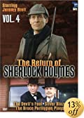The Return of Sherlock Holmes, Vol. 4 - The Devil's Foot / Silver Blaze / The Bruce... - Sherlock Holmes DVD Movie