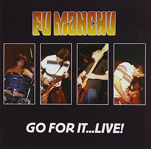 Cubierta del álbum de Go For It ...Live Cd2