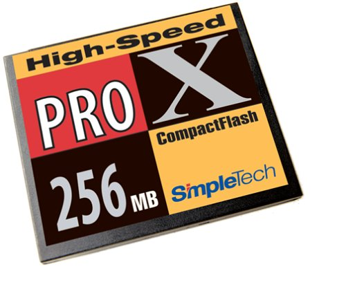SimpleTech 256Mb Compact Flash Card
