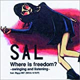 Albumcover für Where is freedom?~swinging and listening~feat.Diggy-MO'(SOUL'd OUT)