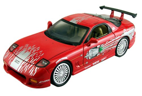 Mazda Rx7 Fast And Furious. 1:18 Scale Fast And Furious: