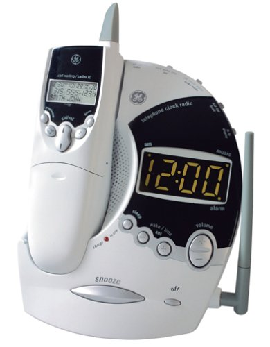 telephone clock radio images frompo. Black Bedroom Furniture Sets. Home Design Ideas