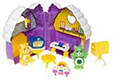 Care Bear Playset: Good Luck & Funshine Bears with House