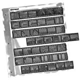 Adorama Archival 35mm Size Negative Pages Holds Seven Strips of Six Frames, Pack of 100