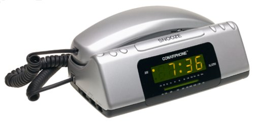 electronics online store products telephones corded telephones with alarm clock. Black Bedroom Furniture Sets. Home Design Ideas