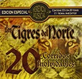 Cover of 20 Corridos Inolvidables