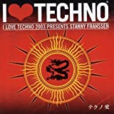 Album cover for I love Techno 2003