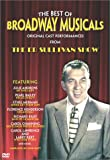 The Best of Broadway Musicals - Classic Performances from The Ed Sullivan Show - movie DVD cover picture