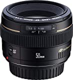 Canon EF 50mm f1.4 USM Medium Telephoto Lens for Canon SLR Cameras