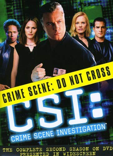 C.S.I. Crime Scene Investigation - The Complete Second Season DVD