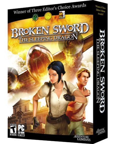Broken Sword Sleeping Dragon