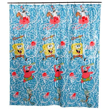 Spongebob Squarepants Shower Curtain