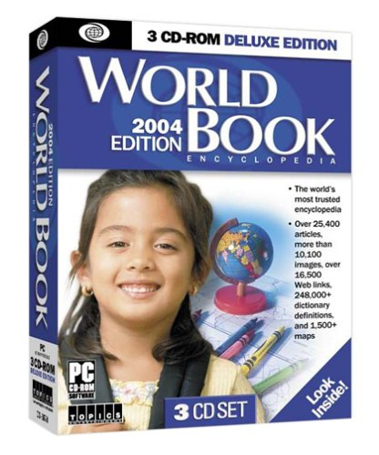 World Book Encyclopedia CD 2004