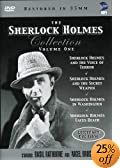 The Sherlock Holmes Collection, Vol. 1 (Voice of Terror / Secret Weapon / In Washington /... by Basil Rathbone 