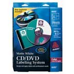 Avery(R) CD/DVD Color Laser Printer Design Kit With Labels And Inserts