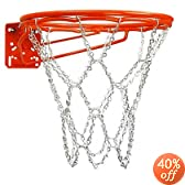 FRONT MOUNT DOUBLE RIM W CHAIN NET by Bison Recreational Products