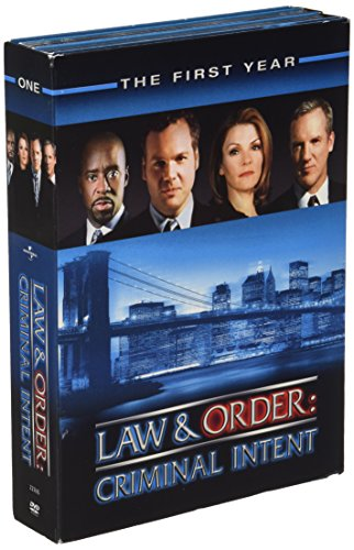 Law & Order Criminal Intent - The First Year DVD