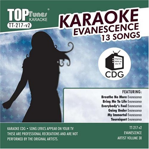 Evanescence Karaoke Top Tunes TT-217 V-2