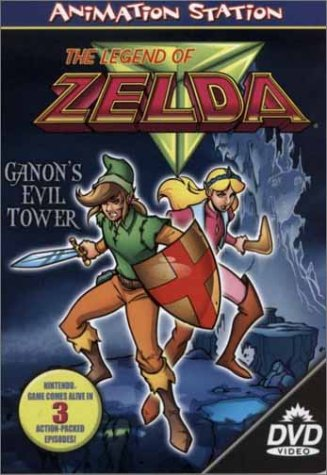 Legend of Zelda - Ganon's Evil   Tower DVD