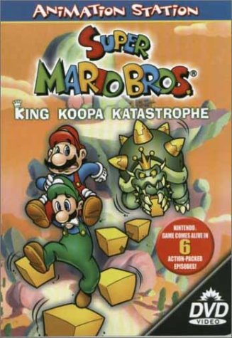 DVD Mario and  Luigi rescue Princess Daisy from King Koopa and the Goombas in a dinosaur world. Based on the video game.