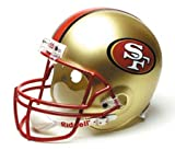 Click here to buy San Francisco 49ers Deluxe Replica Riddell Full Size Helmet by Riddell.