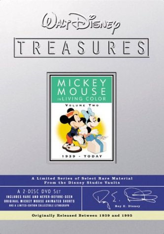 Walt Disney Treasures - Mickey Mouse in Living Color, Volume Two (1990)