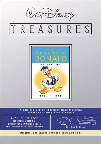 Walt Disney Treasures - The Chronological Donald, Volume One (1934 - 1941) (1941)  DVD