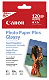 Canon Borderless Photo Paper Plus, Glossy (7980A022, 4x6, 120 Sheets)