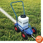 DRY LINE MARKER, POWDER LINE MARKER WITH PNEUMATIC WHEELS by Fountain Line Marker Co.