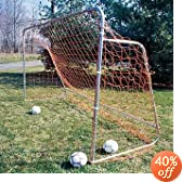PORTABLE FOLDING GOAL and NET [12' W X 7' H X 4' D] by Goal Sporting Goods%2C Inc.
