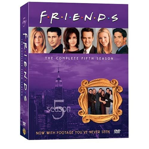 Друзья - Сезон 5 (friends - Season 5) [RUS+ENG DVDRipS] (ВСЕ серии)