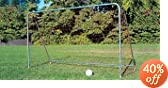 PORTABLE FOLDING GOAL and NET, 12' W X 7' H X 4' D by Jaypro Sports%2C Inc.