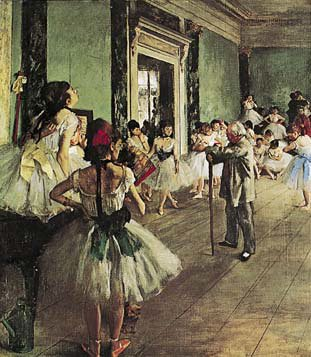 Dancing Class, The, Art Poster 