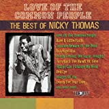 Album cover for Love Of The Common People: The Best Of Nicky Thomas