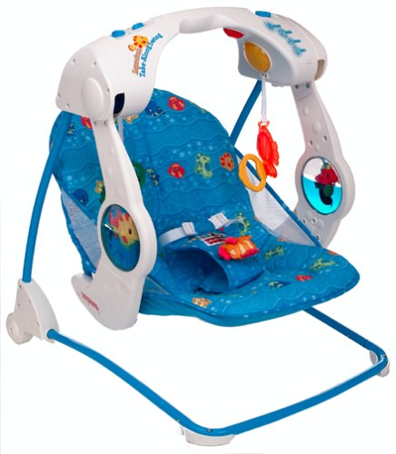 fisher price aquarium cradle swing instructions